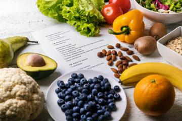 低脂肪、高繊維の食事