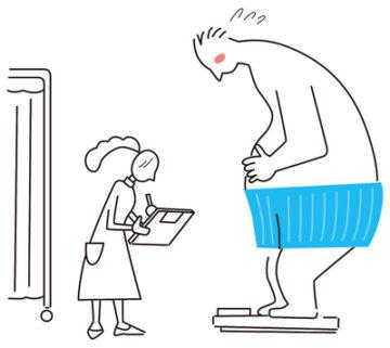 高中性脂肪血症、高血圧、糖尿病、脂肪肝などの生活習慣病の合併あるいは予備軍